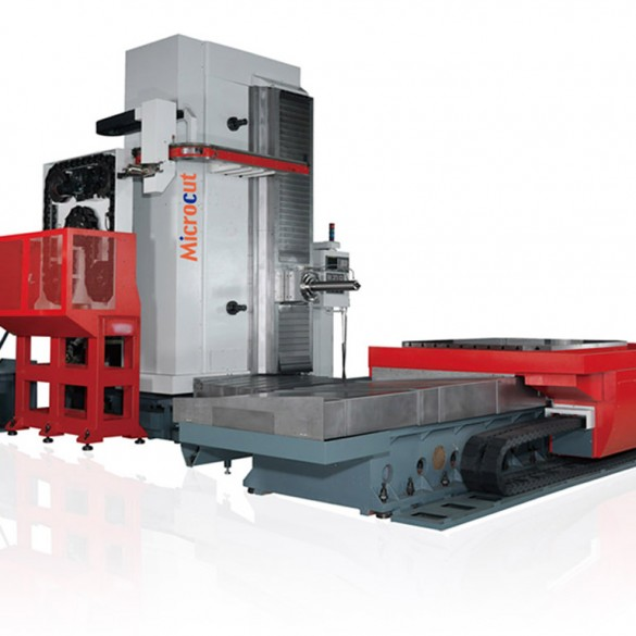 riikone industrial machinery hbm-5t microcut milling machine horizontal borer