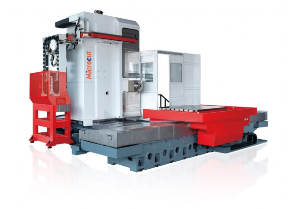 riikone industrial machinery hbm-5tl microcut milling machine horizontal borer